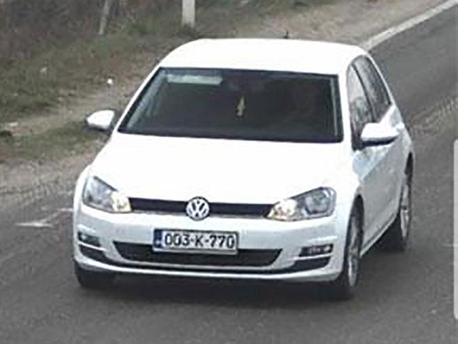 Auto koje je vozio Benedi Đukanović