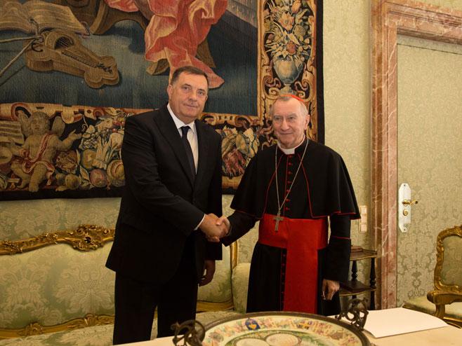 Dodik i Parolino (Foto: RTRS)