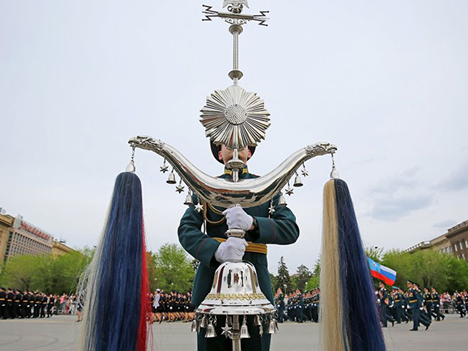 Vojna sila Rusije na ulicama Moskve (Foto: Sputnjik)