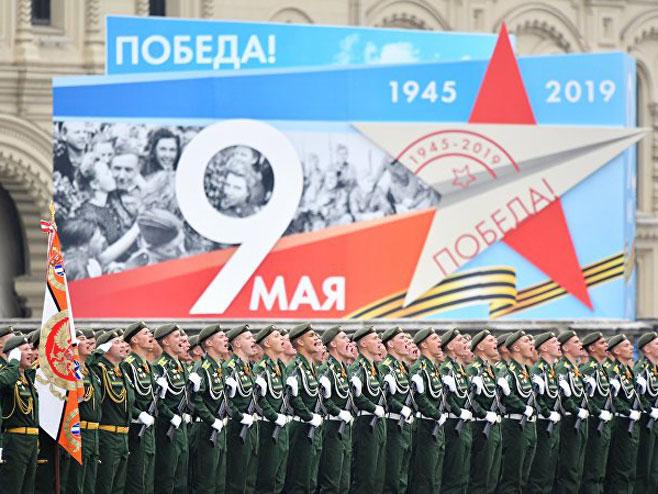 Vojna parada u Moskvi (Foto: Spitnjik)