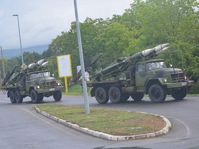 Војна парада у Нишу (Фото: Спутњик)
