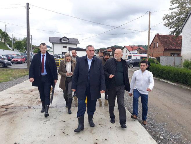 Višković u Kostajnici (Foto: kostajnica.net)
