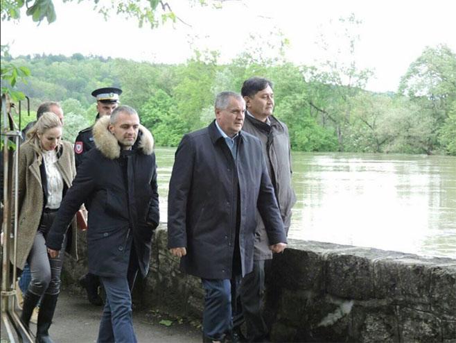 Вишковић у Новом Граду (Фото: РТРС)