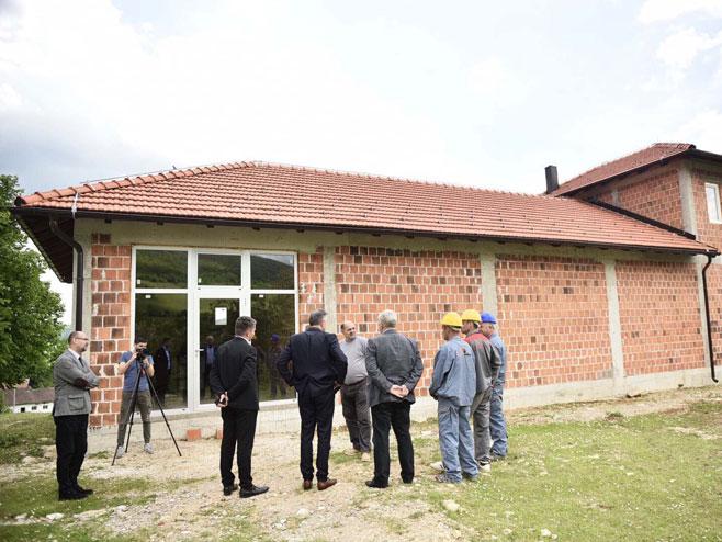 Бањалука-Радојичић-градилиште друштвеног дома (Фото: СРНА)