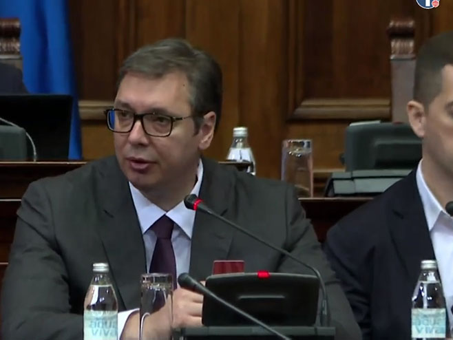 Aleksandar Vučić (Foto: Screenshot)