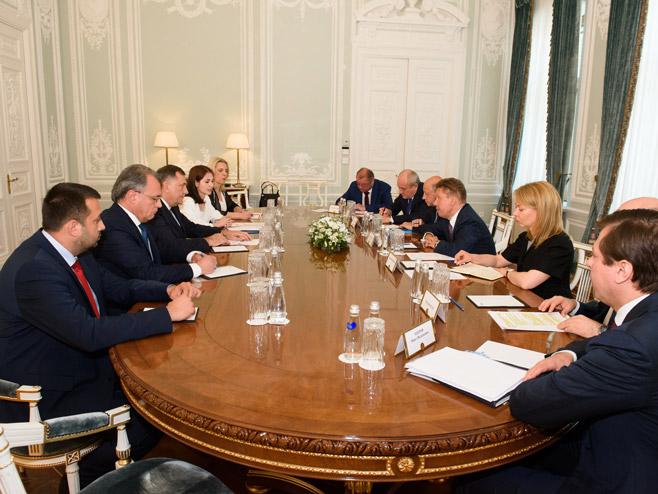 Састанак у Гаспрому (Фото:РТРС)