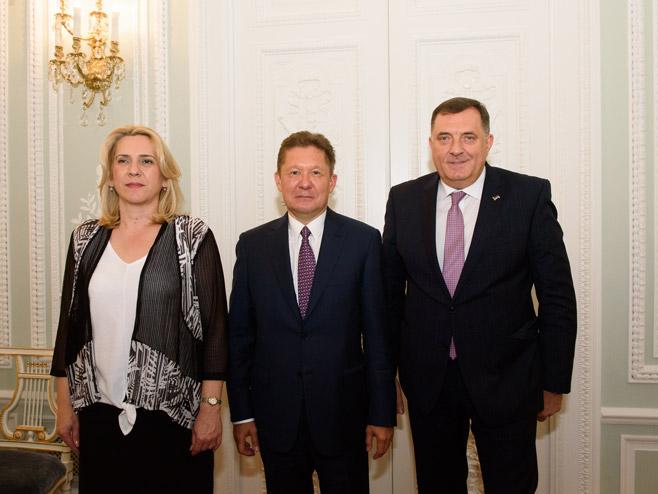 Састанак у Гаспрому (Фото: РТРС)