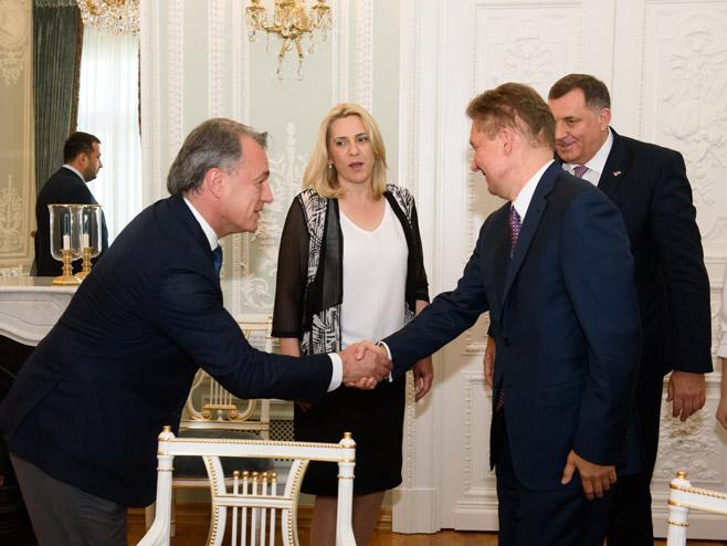 Додика и Цвијановићеву примио је Милер, предсједник УО