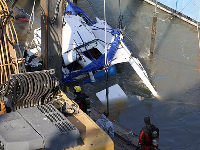 Извлачење брода