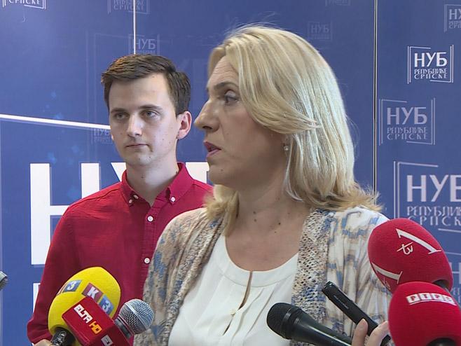 Жељка Цвијановић (Фото: РТРС)