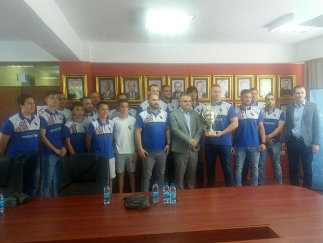 Пријем за спортисте и ученике у Градској управи Зворник (Фото: РТРС)