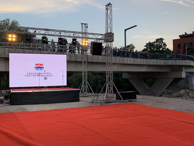 Отварање новоизграђеног моста у Бањалуци (Фото: РТРС)