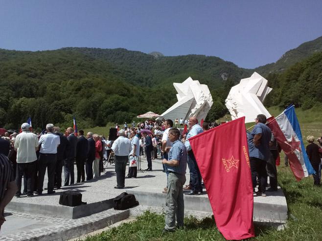 Тјентиште-обиљежено 76 година од Битке на Сутјесци (Фото: Срна)
