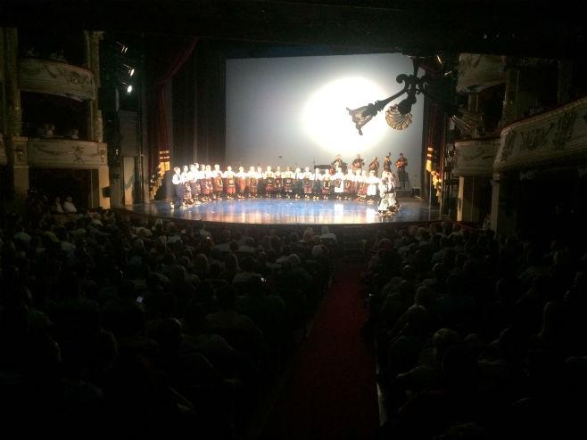 """Koncert KUD """"Taban"""" u Budimpešti (Foto: RTRS)"""