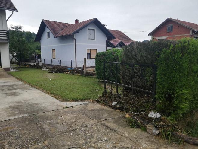 Naselje Tavija, Kostajnica (Foto: RTRS)