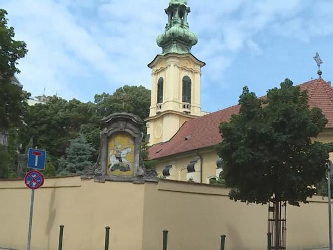 Црква Светог Ђорђа у Будимпешти (Фото: РТРС)