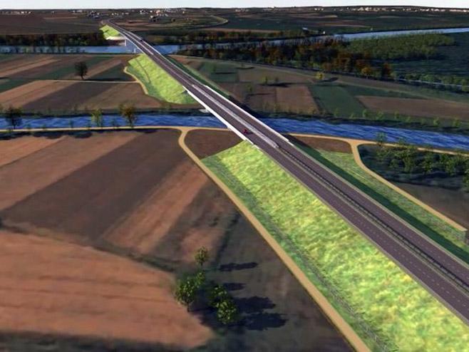 Novi most u Gradišci (Foto: RTRS)