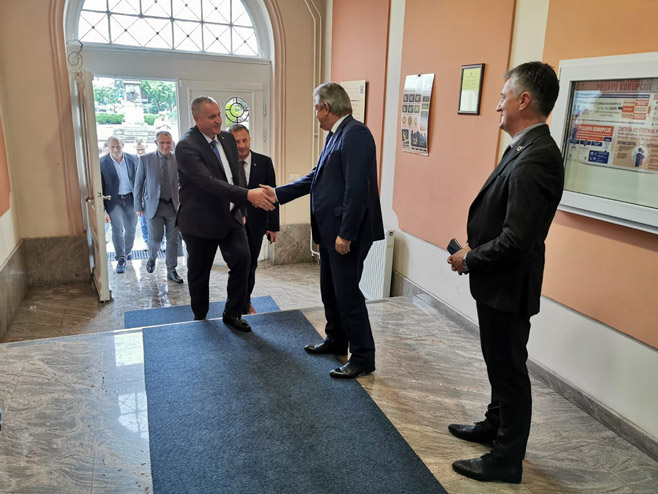 Радован Вишковић и Мићо Мићић