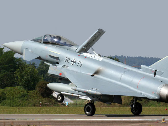 Евеофајтер (Фото: CC BY 2.0 Eurofighter Typhoon S Germany Air Force/flickr.com/people/14035760@N03) -