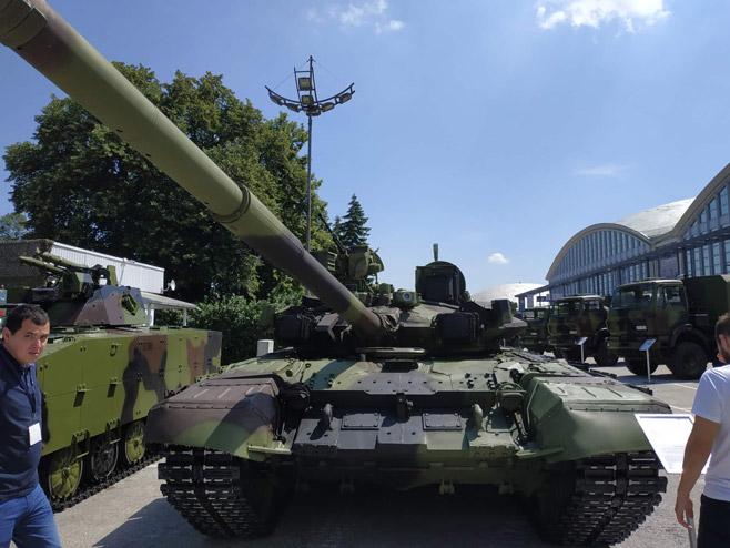 Тенк М-84 АБ (фото: Србија Данас)