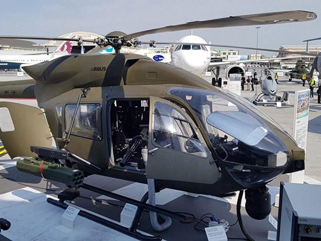 """Хеликоптер """"Ербас"""" Х145М (фото: Тангосикс/Петар Војиновић)"""