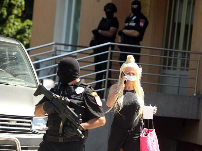 Žena ubijenog Ostojića (foto: Siniša Pašalić/RAS Srbija)