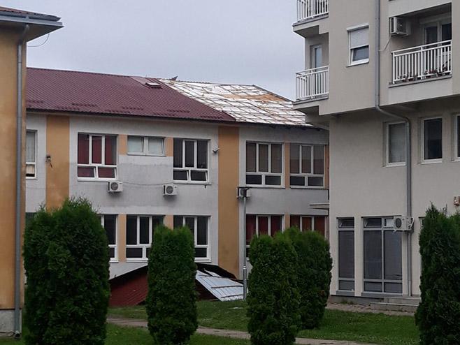 Srbac, Doma zdravlja (Foto: RTRS)