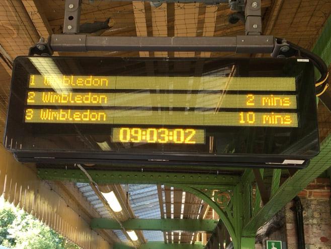 Vozovi za Vimbldon idu na nekoliko minuta (Foto: Bi-Bi-Si)