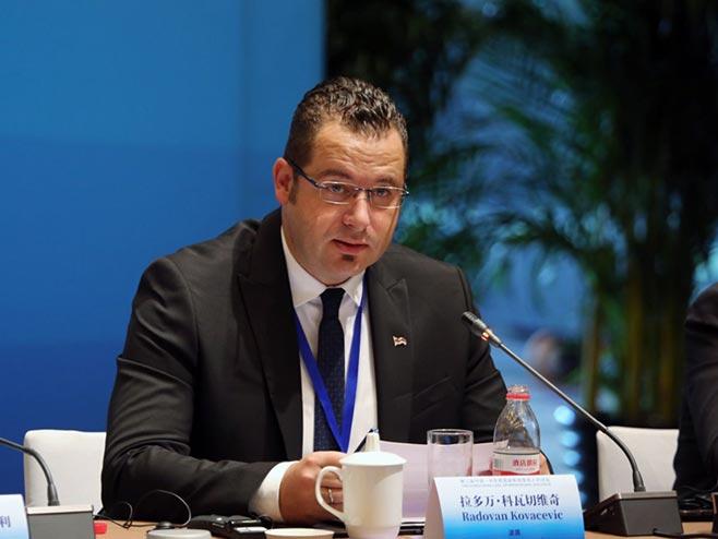 Радован Ковачевић у Кини (Фото: РТРС)
