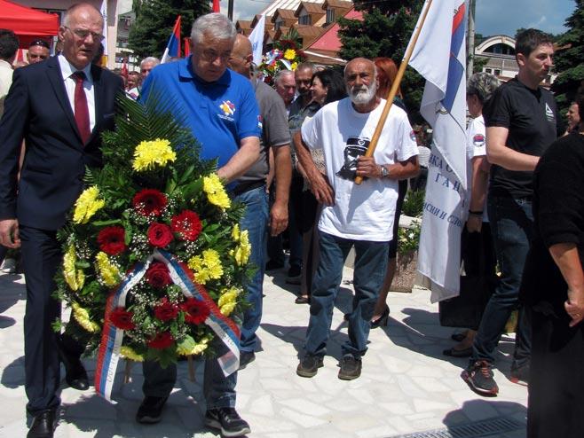Помен борцима Калиновика (фото: СРНА)