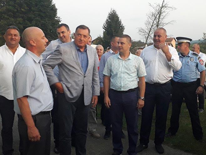 Milorad Dodik na zboru u Marićkoj