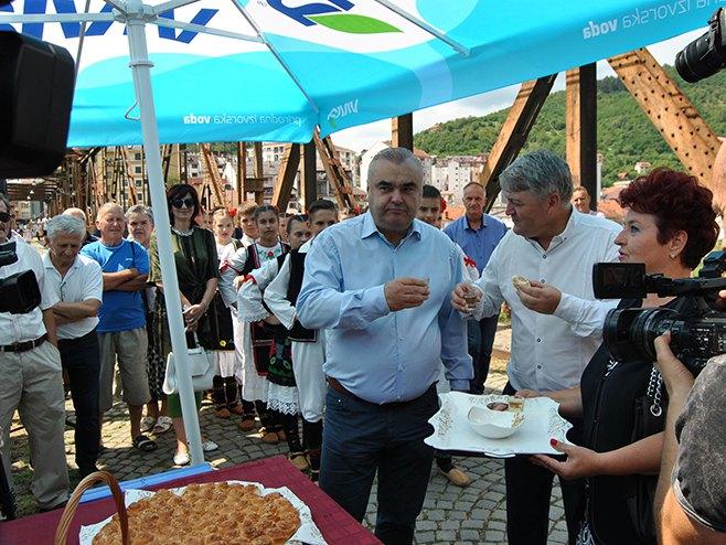 Stevanović i Јevtić (Foto: SRNA)