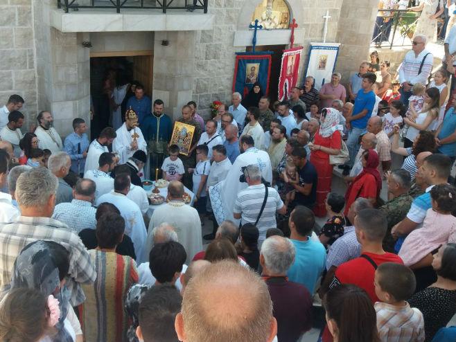 Prebilovci, liturgija - Foto: RTRS
