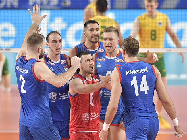 Odbojkaši Srbije (Foto: volleyball.ioqt.2019.fivb.com)