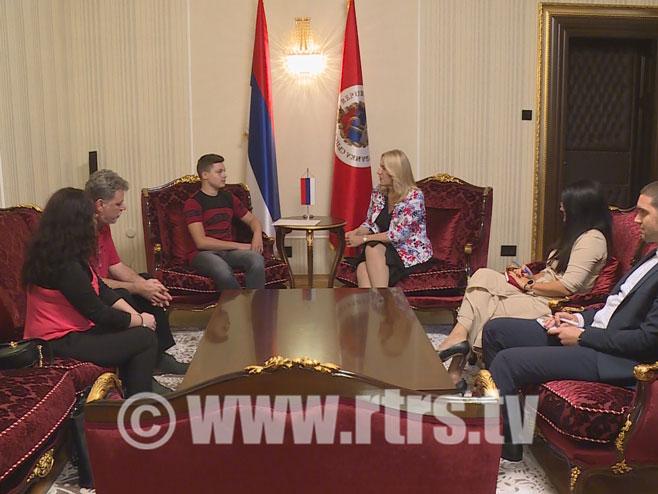 Željka Cvijanović i Dejan Lukić