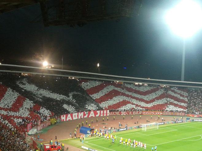 Crvena Zvezda-Јang bojs(srceenshot/Arena Sport)