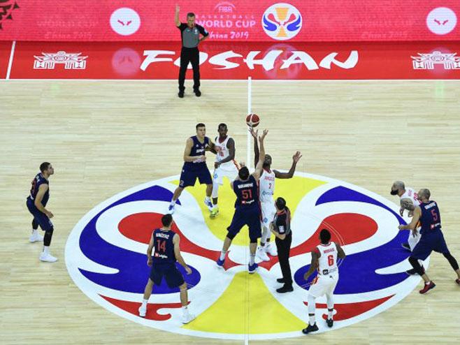 Košarkaši Srbije (Foto:Xinhua/Xue Yubin)