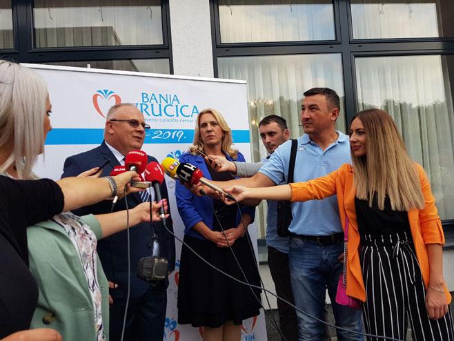 Bogdanić i Cvijanovićeva (Foto: RTRS)