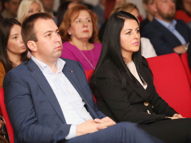 Горан Селак и Соња Давидовић (Фото: РТРС)