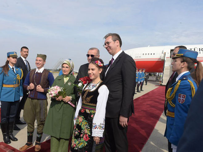 Ердоган у Београду (Фото: Танјуг)