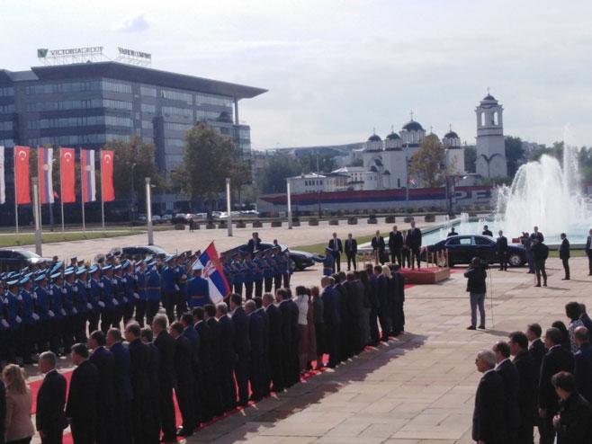Ердоган у Београду