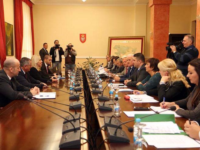 Sjednica UO Zavoda za zapošljavanje Srpske (Foto: RTRS)