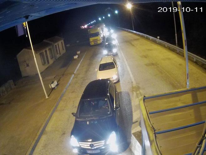Гранични прелаз Павловића мост - улаз у Српску (фото: АМС РС)