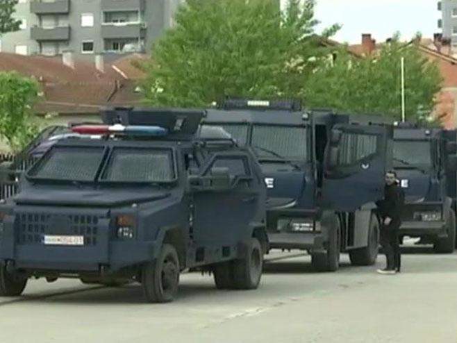 Upad ROSU na Kosovo (Foto: RTS)