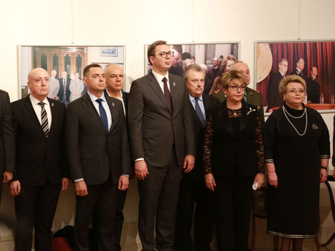 Vučić i Vulin (Foto: Sputnik / Radoje Pantović)