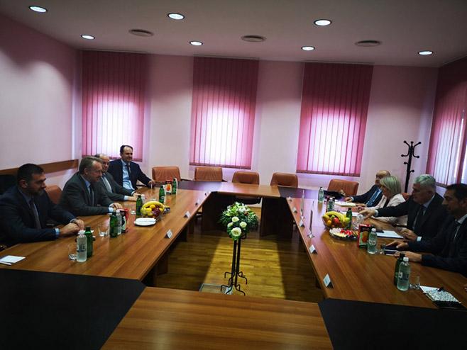 Састанак ХДЗ и СДА (Фото: Аваз/М. Смајкић)