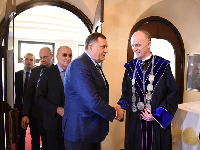 Dodik i Gajanin (Foto: SRNA)