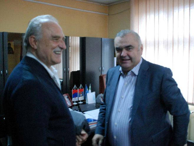 Ристовски и Стевановић (Фото: СРНА)