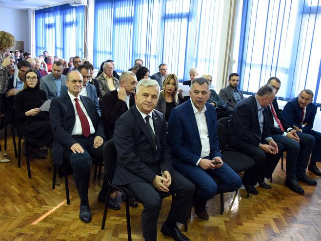 Недељко Чубриловић и Игор Радојичић (Фото: СРНА)