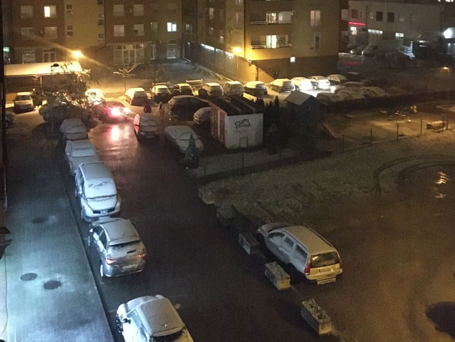 Snijeg u Banjaluci (Foto: RTRS)